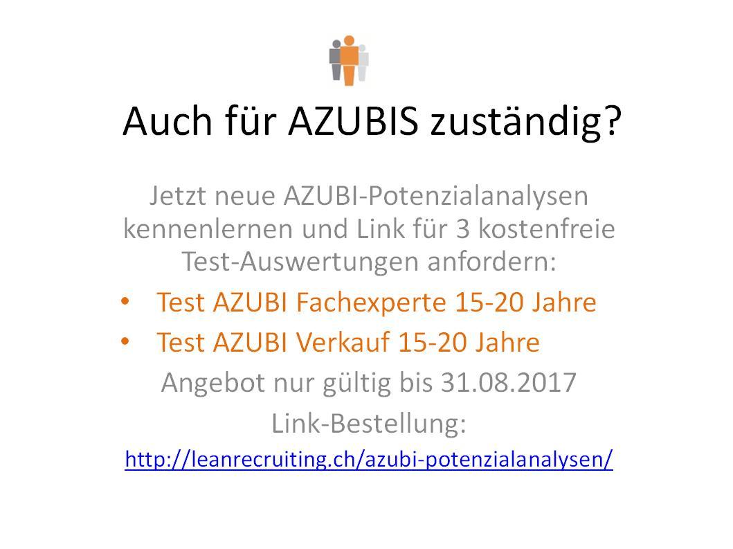 AZUBI Potenzialanalysen leanrecruiting.ch
