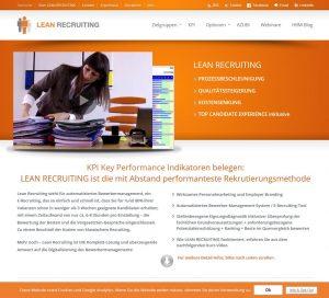 Webseite leanrecruiting.ch