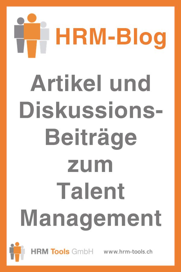 HRM-BLOG - Artikel und Diskussionsbeiträge zum Talent Management - Alle Beiträge im Überblick