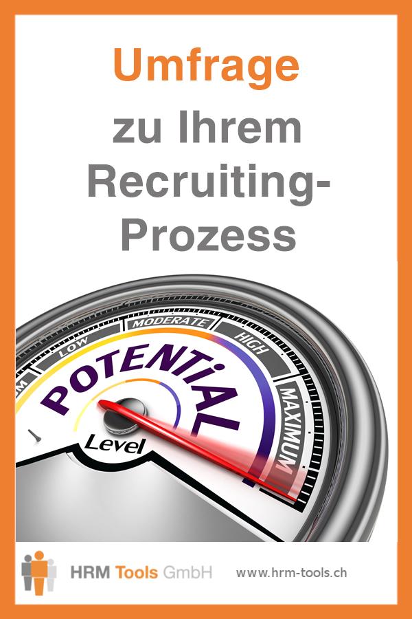 Umfrage zu Ihrem Recruiting-Prozess - Optimierungsmöglichkeiten