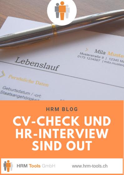 Warum klassisches Recruiting, bzw. CV-Check und HR-Interview, out sind