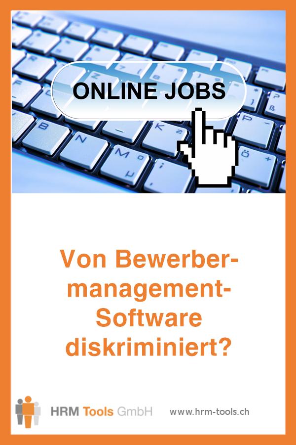 Warum Bewerbermanagement-Software diskriminierend sein kann - aber nicht muss