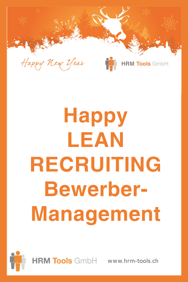 Das performanteste Bewerbermanagement: LEAN RECRUITING
