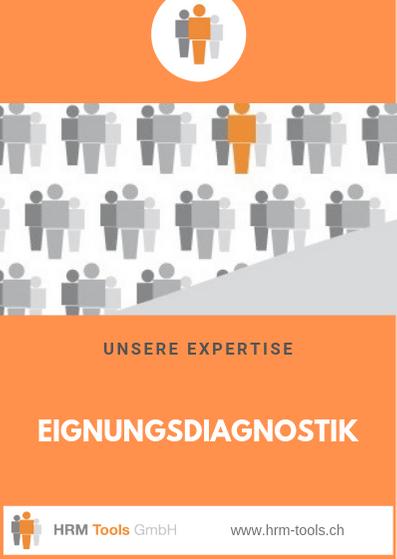HRM Tools GmbH Geschäftsbereich / Expertise Eignungsdiagnostik