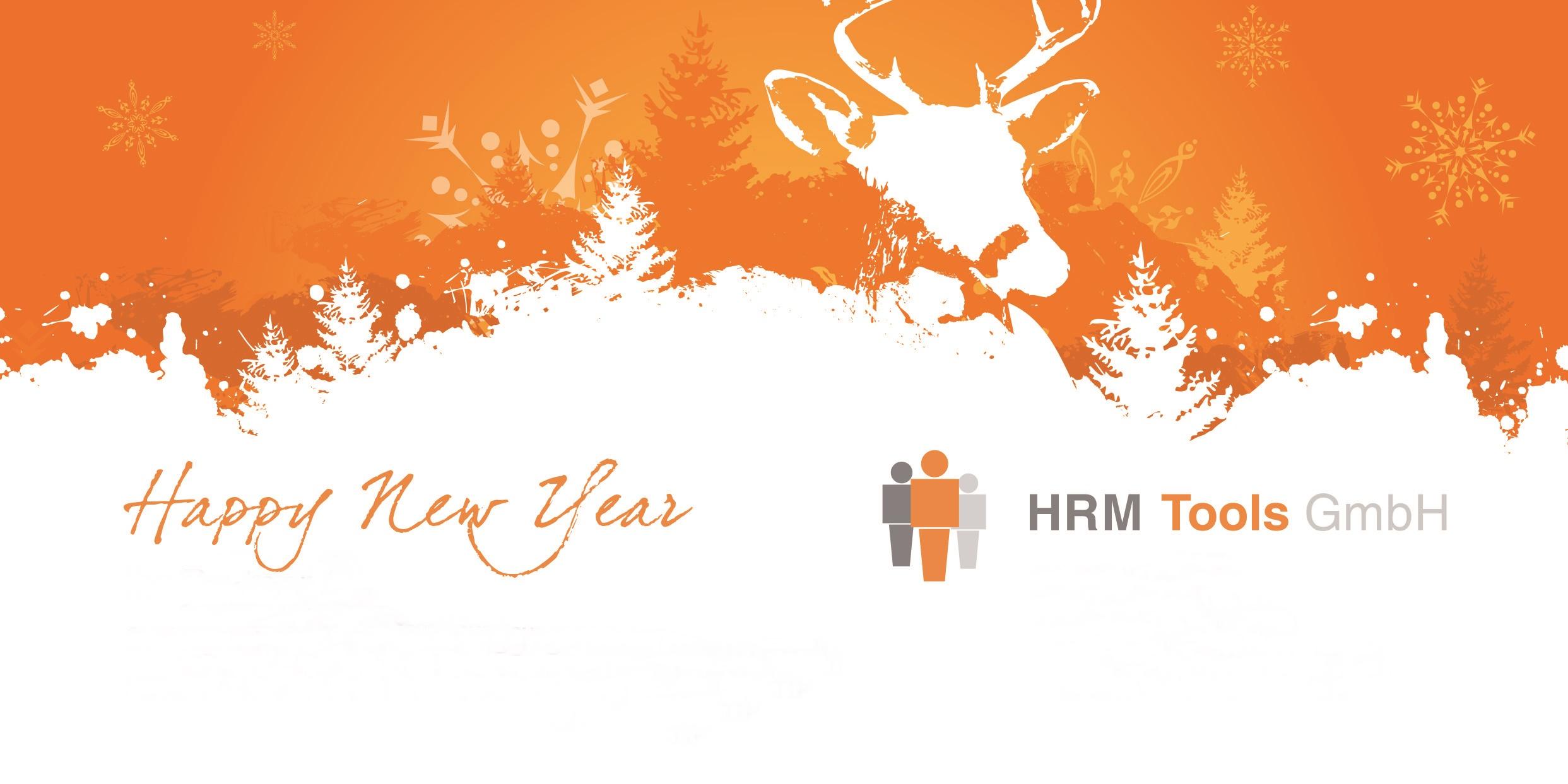 Happy New Year - Ein gutes Neues Jahr wünscht HRM Tools GmbH